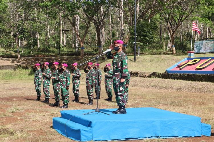 Pembukaan Sustaja Korps Marinir Angkatan XXXIX/2 Dan Acara Tradisi Di Bumi Marinir Purboyo