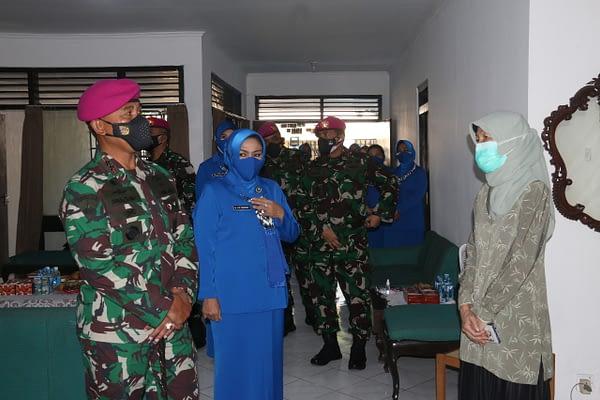 TNI AL Korps Marinir Bedah Rmah Anggotanya yang Gugur di Aceh