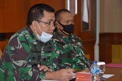 Korps  Marinir  Terima Tim Audit Kinerja Itjen TNI TA. 2020
