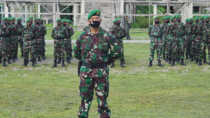 Danrindam XVIII/Kasuari Pimpin Upacara Pembukaan Pendidikan Prabinsa Abit Dikjurta TNI AD TA 2020