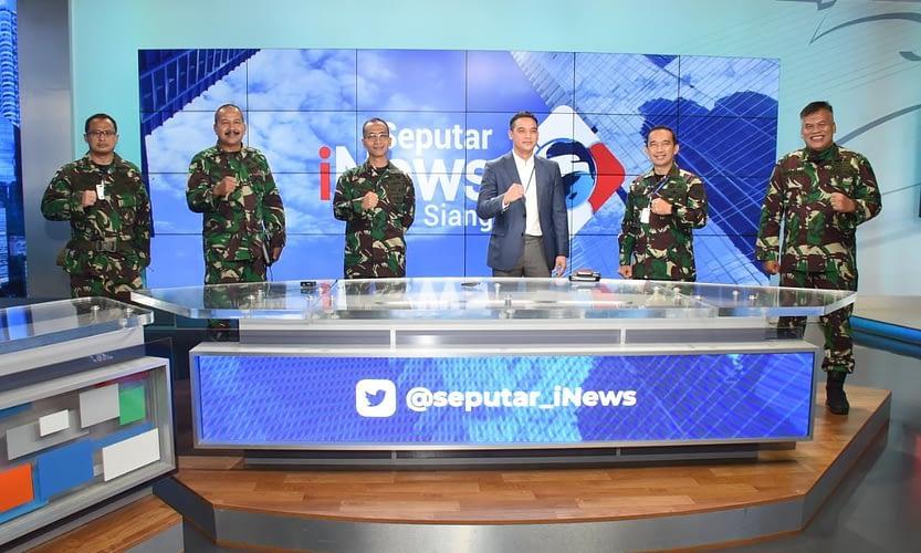 Dinas Penerangan Angkatan Darat dan MNC Media Perkuat Kerja Sama