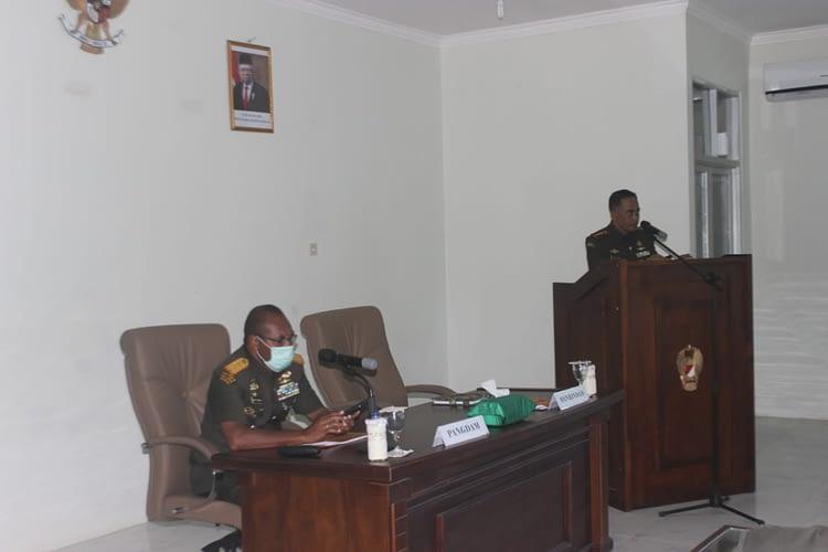 Dikmata TNI AD Gel. II TA. 2019 (OV) Kodam XVIII/Kasuari Ditutup