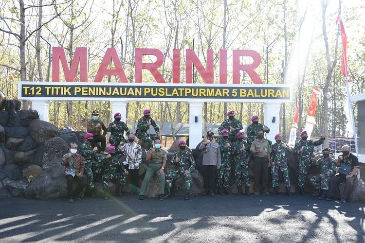 Dukung Sarana Latihan, Dankormar Resmikan Fasilitas Pusat Latihan Tempur Marinir
