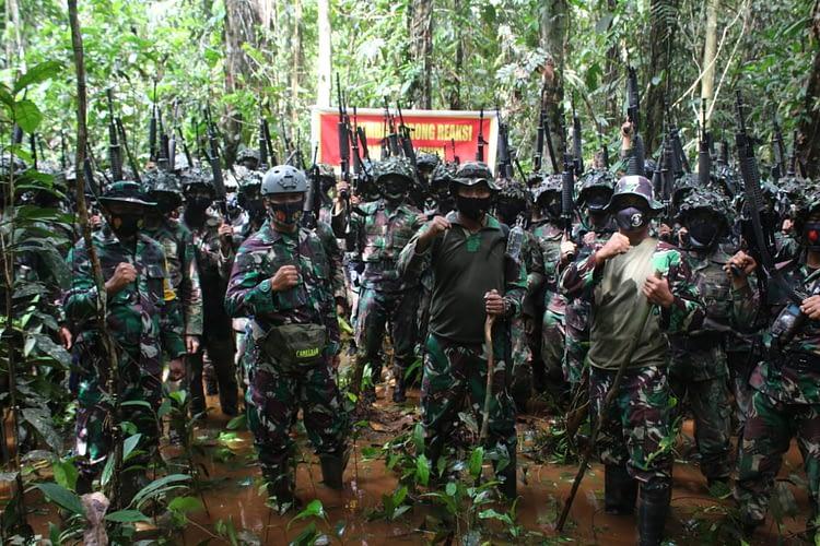 Kakatua Raja Perkasa Prajurit Petarung Brigif 3 Marinir Laksanakan Latihan MUPE