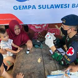 TNI AU Berkontribusi Nyata Terhadap Pemulihan di Provinsi Kalsel dan Sulbar