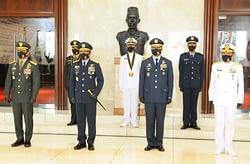 Kasau Hadiri Pelantikan Perwira Karier TNI