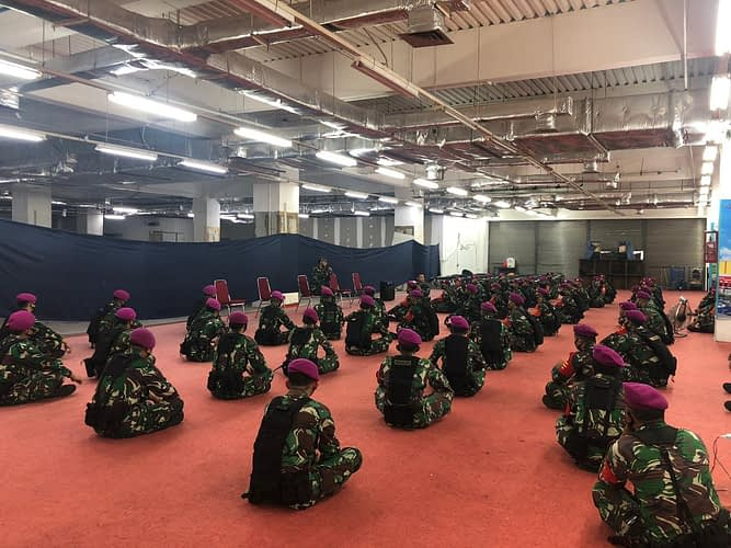 Dansatgas Penegakan Protokol Kesehatan Laksanakan Jam Komandan