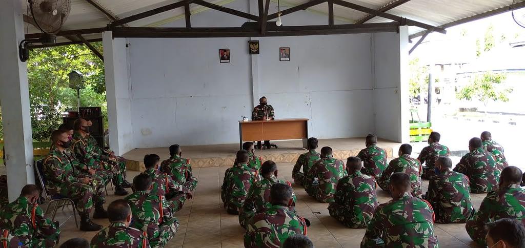 Puslatpurmar 3 Grati Laksanakan Jam Komandan Jelang Lebaran
