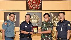 Panglima TNI Terima Audiensi Direktur Utama PT. KAI (Persero)