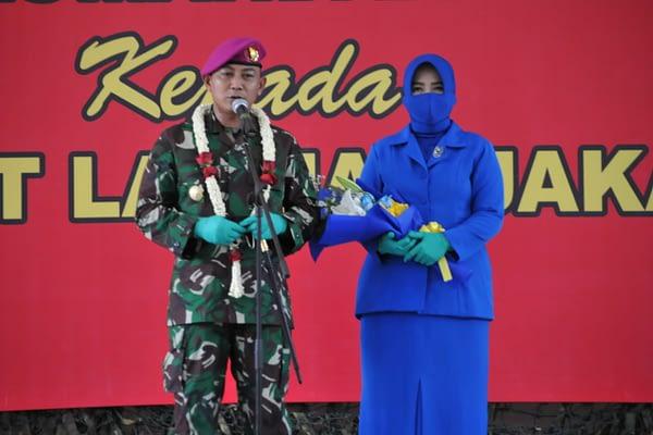 Tradisi Lepas Sambut Danlanmar Jakarta