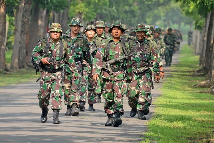 Pelihara Kemampuan Tempur, Prajurit Kima Brigif 2 Marinir Laksanakan Hanmars