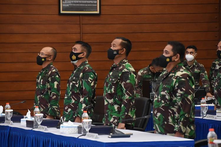 Dankormar Hadir Dalam Rapat Pimpinan TNI
