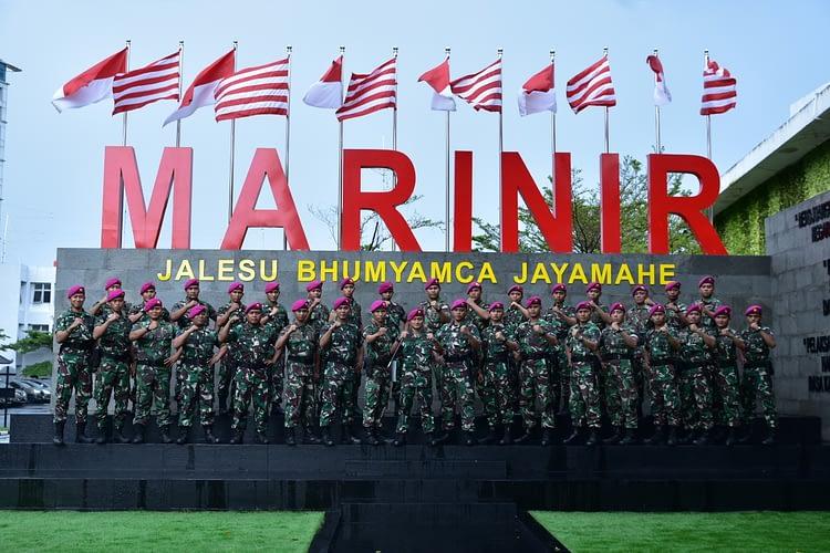 Dankormar Apresiasi Satgas Marinir  Kemanusiaan  Kesehatan Natuna