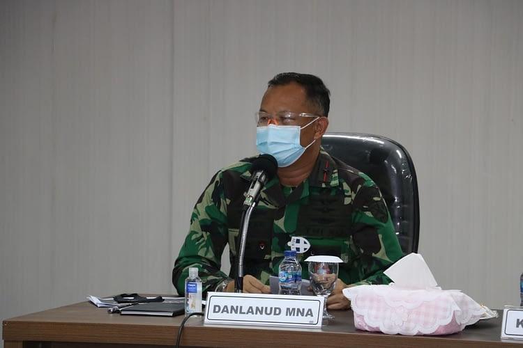 Marsma Daan Sulfi Terima Tim Wasrik Itjen Kemhan di Lanud MNA