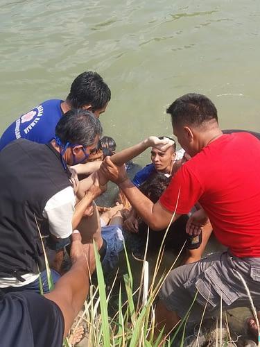Tim Sar Yontaifib 1 Mar Berhasil Temukan Korban Tenggelam Di Cibarusah