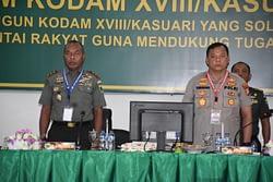 Pangdam XVIII/Kasuari: Jaga Netralitas TNI dalam Pilkada Serentak di Papua Barat 2020