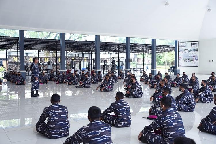 Tatap Muka Danpasmar 1 Dengan Para Komandan Peleton Jajaran Pasmar 1