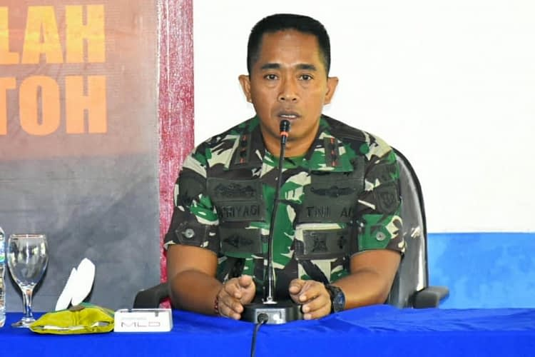 Komandan Yonif 5 Marinir Tatap Muka dengan Bintara