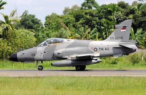 Kadispenau: Kecelakaan terjadi saat pesawat (Hawk 209) akan mendarat kembali dari latihan rutin, Pilot Selamat