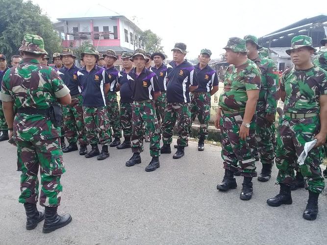 Yonmarhanlan I Ikut Serta Dalam Gotong Royong Pemkot Medan.