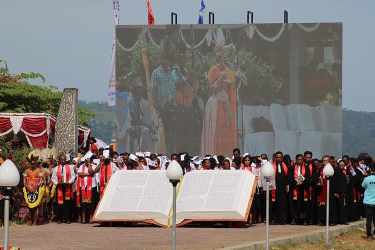 2 Pangdam Wilayah Papua Hadiri Acara Peringatan HUT ke-165 Pekabaran Injil di Tanah Papua