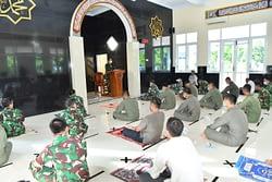 Doa Bersama Jelang Latihan MOT Di Lanud Iswahjudi