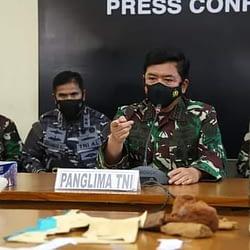 KRI Nanggala-402 Subsunk, Panglima TNI Terus Berupaya Mencari Bukti Kuat