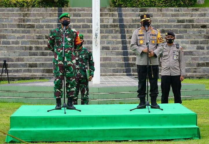 Pangdam XVIII/Kasuari: Sinergitas TNI-Polri Memiliki Energi yang Luar Biasa