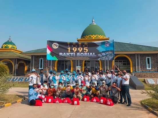 Jusuf Kalla dan Letjen TNI Doni Monardo Hadiri 25 Tahun Pengabdian Akabri 95
