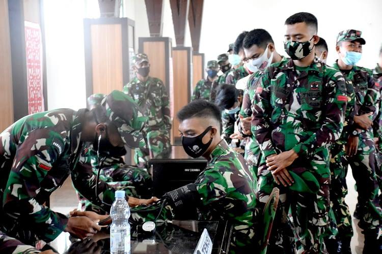 Menyambut Hari Juang TNI AD dan HUT Ke-4, Kodam XVIII/Kasuari Kumpulkan 150 Kantong Darah